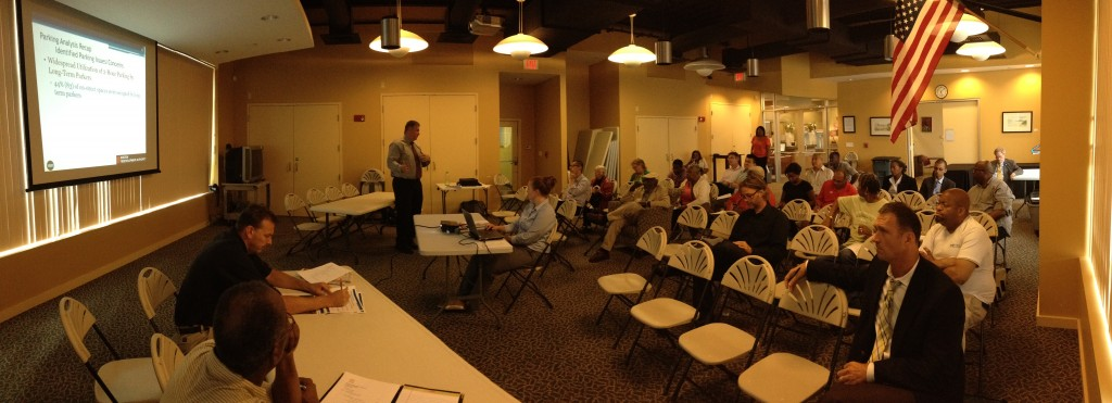 Parking Presentation by VHB's Sean Manning, at the June 26, 2014 DVATF Meeting.