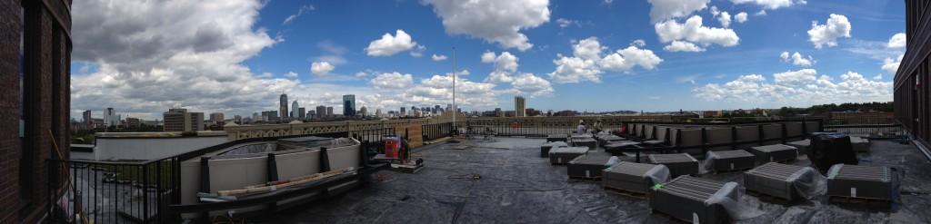 Summer 2014 Roof Dudley Muni